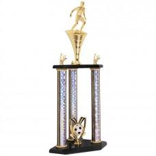 SOC21 Soccer 1st place Trophy